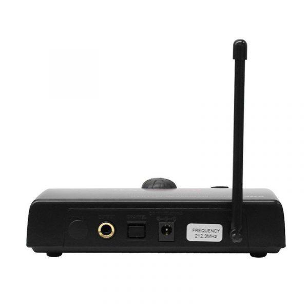 Receptor de micrófono inalambrico de mano AudioPro VHF201H