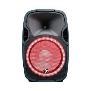 "Cabina activa 15 Music Xtreme PlayPro de 15"" audioritmica con modulo mp3 y 400WRMS."