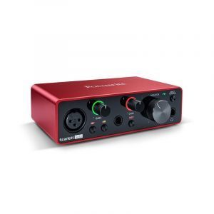 Interfaz de audio Focusrite Scarlett Solo