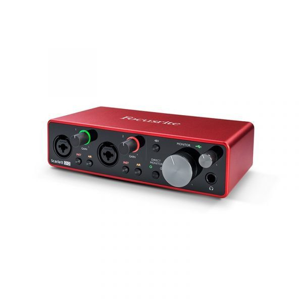 Interfaz de audio Focusrite Scarlett 2i2