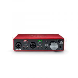 Interfaz de audio Focusrite Scarlett 2i2