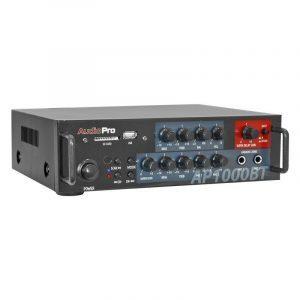 Amplificador modular estéreo AP1000BT AudioPro con modulo mp3, EQ 2 bandas, 120WRMS