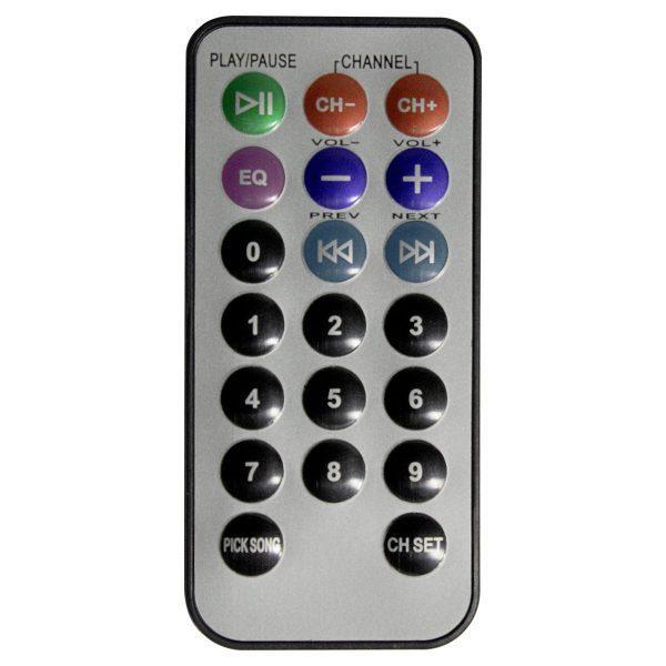 Control remoto para modulo de reproducción mp3 del amplificador modular estéreo AP2000BT