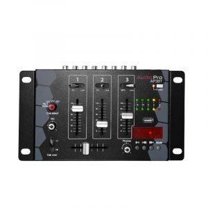 Mezclador de 3 canales AP3BT AudioPro con reproductor mp3, bluetooth y audífonos