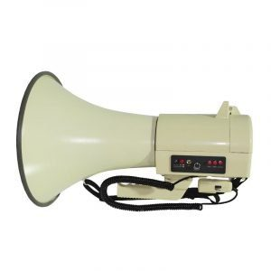 Megáfono AudioPro AP4501USB 50WRMS 100m, sirena, grabación.