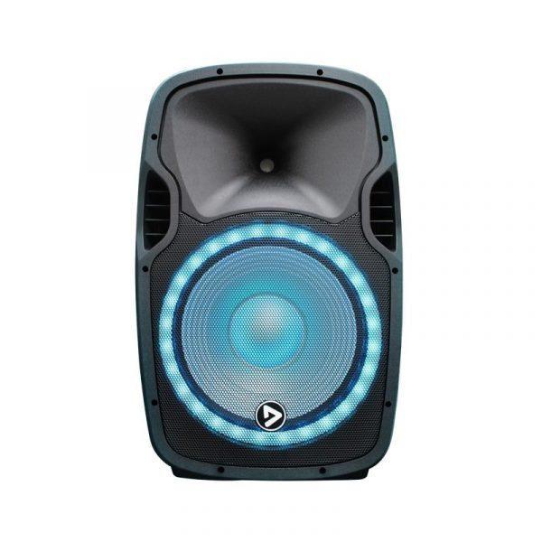 """Cabina activa ElectroParty de 15"""" Audioritmica PlayPro con modulo mp3"""