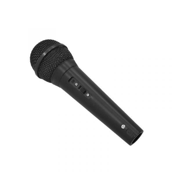 Micrófono inalambrico ElectroParty negro dinamico de PlayPro