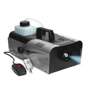 Máquina de Humo Fog Machine AudioPro 1200W, capacidad de 3L y 10m de alcance.