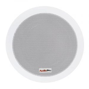 "Bafle ambiental de empotrar ISP8 AudioPro de 8"" blanco con transformador"