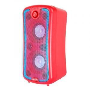 Bafle activo Inbox Vento rojo audioritmica con modulo mp3