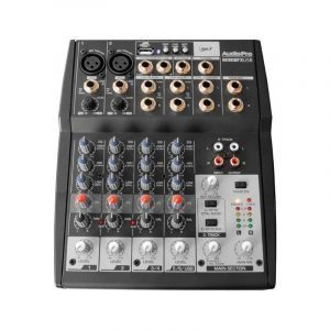 Consola 8 Canales AudioPro MINI8FXUSB