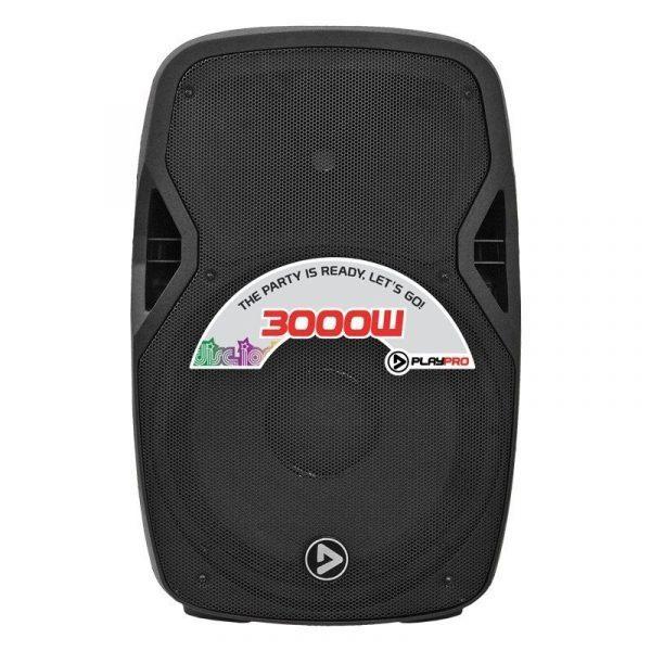 """Bafle Activo 15"""" con Bluetooth PlayPro PL3000X"""