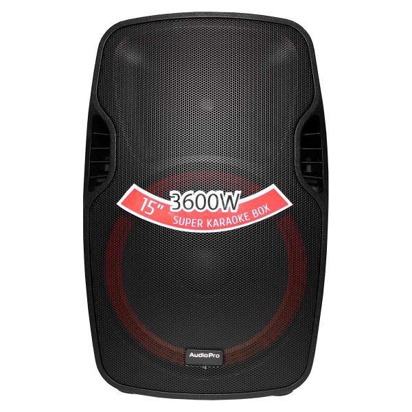 """Cabina pasiva PRO1800 AudioPro de 15"""" y 450WRMS."""