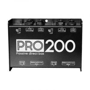 Caja directa doble estéreo pasiva PRO200 Vento