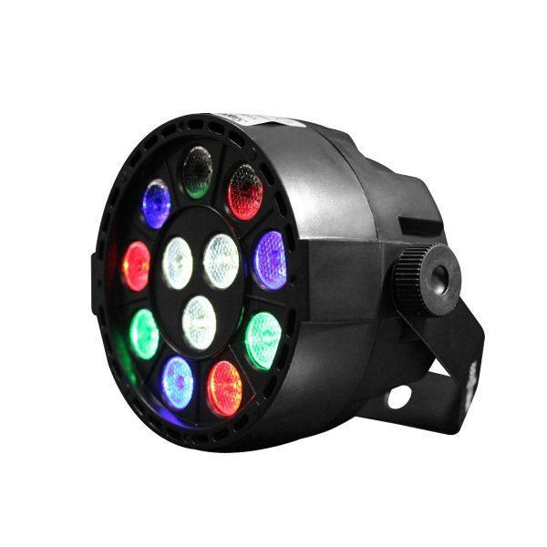 Luz Par LED 12 x 1W NightSun SPC203