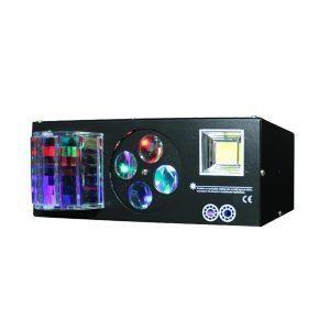 Luz láser 6x3W RGBWAP LED NightSun SPG607
