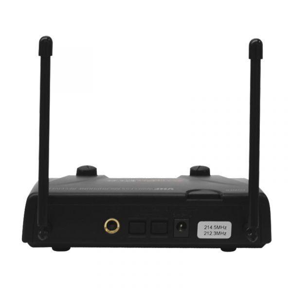 Receptor de micrófono inalambrico AudioPro VHF202HH