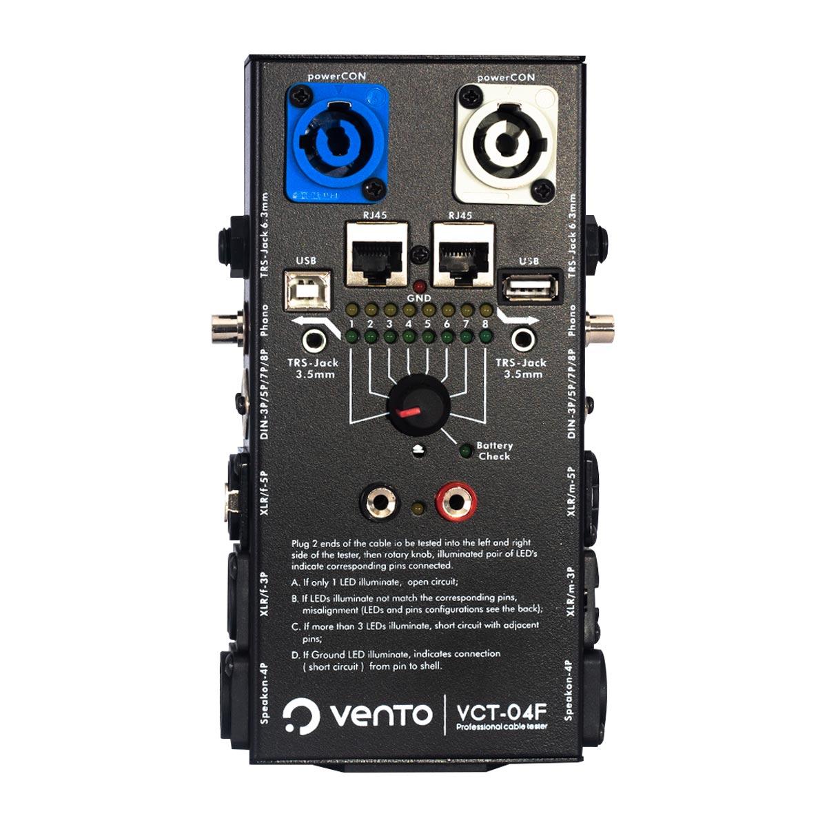 Probador de cables de audio VCT-04D Vento