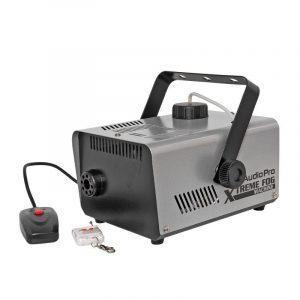 Maquina de humo Xtreme Machine AudioPro 900W 1L