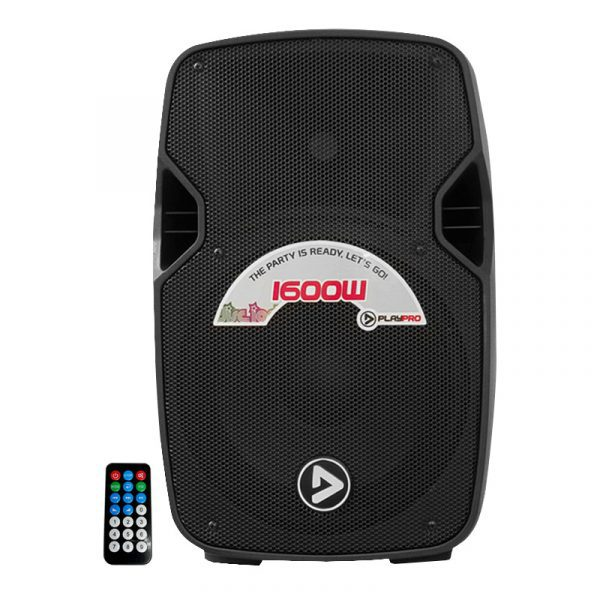 Bafle Activo de ABS 10″ con Bluetooth PlayPro PL1600X
