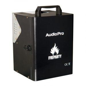 Equipo Lanzallamas Fire Party AudioPro para 2 cartuchos y alcance de hasta 3 m.