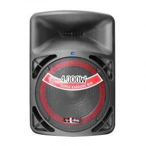 """Cabina pasiva PRO2000 AudioPro de 15"""" y 600WRMS."""