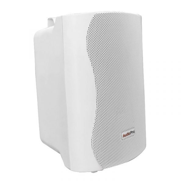 Bafle ambiental Satellite 4 AudioPro blanco 25WRMS con soporte