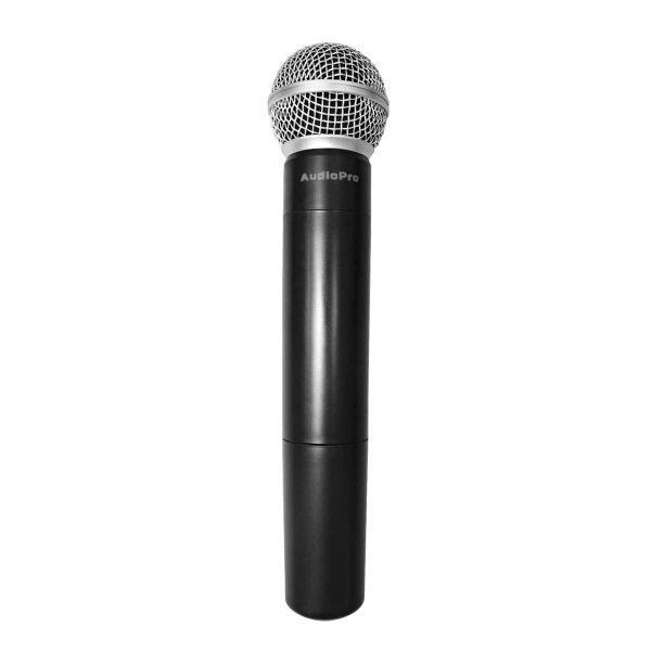 Micrófono inalambrico de mano UHF301H de AudioPro