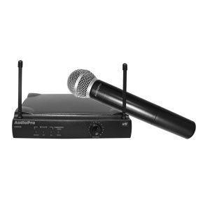 Micrófono inalambrico AudioPro UHF301H