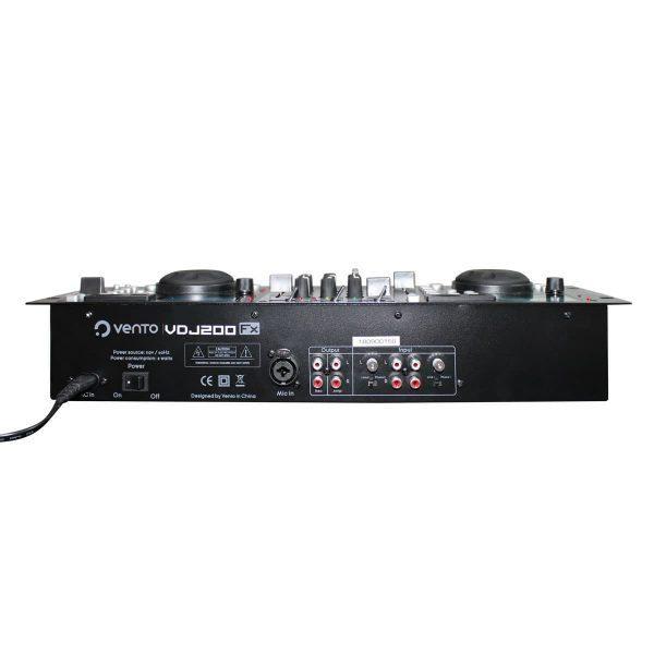 Mezclador con efecto de Scratch VDJ200 FX 2 canales Vento
