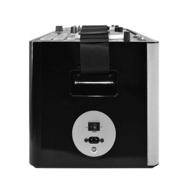 Controlador MIDI para DJ recargable y amplificado XPRODJ Vento