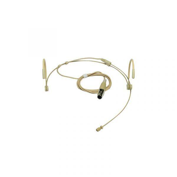 Micrófono de diadema color piel Heatset4 para el Emisor UHF Bodypack4 Vento para Receptor UHF Vento WM332 Receiver