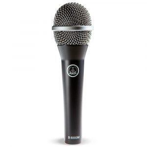 Micrófono dinámico vocal AKG D8000M de mano cardioide