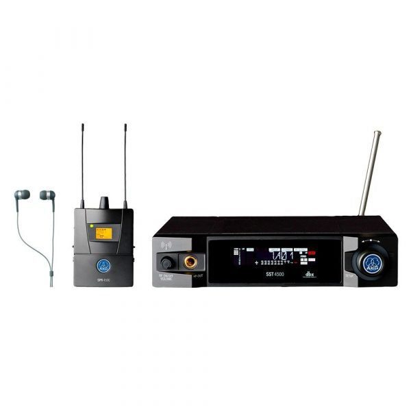Micrófono inalambrico AKG IVM4500 Sistema de monitoreo in-ear profesional
