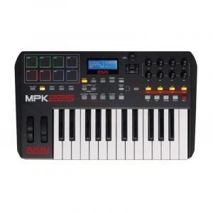 Controlador AKAI MPK 225 MIDI 25-Key profesional para producción musical