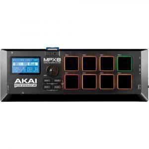 Controlador AKAI MPX8 MIDI Sampler profesional para producción musical