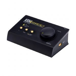 Interfaz de audio FireWire KRK ERGO Analizador y corrector acústico