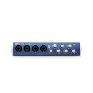 Interfaz de 4 canales Presonus Audiobox 44VSL Studio One 3