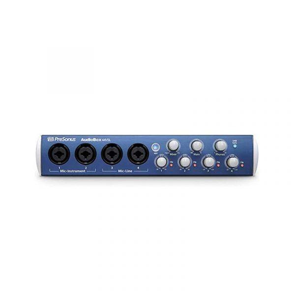 Interfaz de 4 canales Presonus Audiobox 44VSL Studio One 3