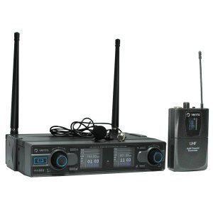 Micrófono Inalámbrico de Corbata Lavalier2 con Emisor Bodypack4 y Receptor WM332 UHF Vento