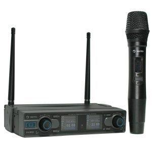 Micrófono Inalámbrico de Mano MH29 con Receptor WM332 UHF Vento 2 Canales