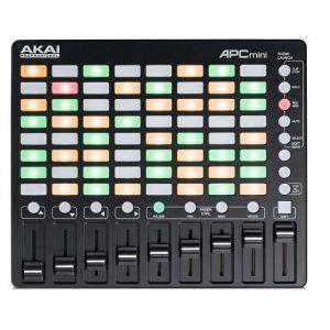 Controlador AKAI APC Mini Pad profesional para Ableton live