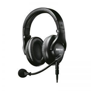 Audífonos Shure BRH440M diadema negra con micrófono incorporado