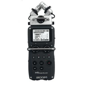 Grabadora de audio portátil Zoom H5 profesional 4 canales con preamplificadores, monitoreo y grabación técnicas surround