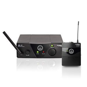 Micrófono inalámbrico Mini AKG WMS40 profesional para instrumentos