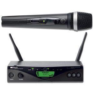 Sistema de micrófono inalámbrico vocal UHF AKG WMS470-D5 multicanal profesional