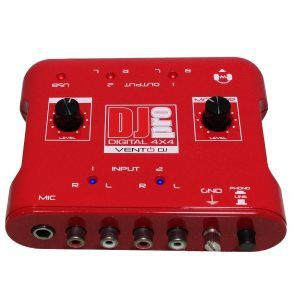 Interfaz de audio DJPRO Digital4X4 Vento