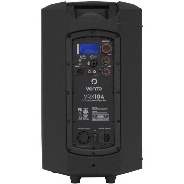 Cabina activa profesional bi amplificada VRX10A Vento con amplificador clase D 250WRMS